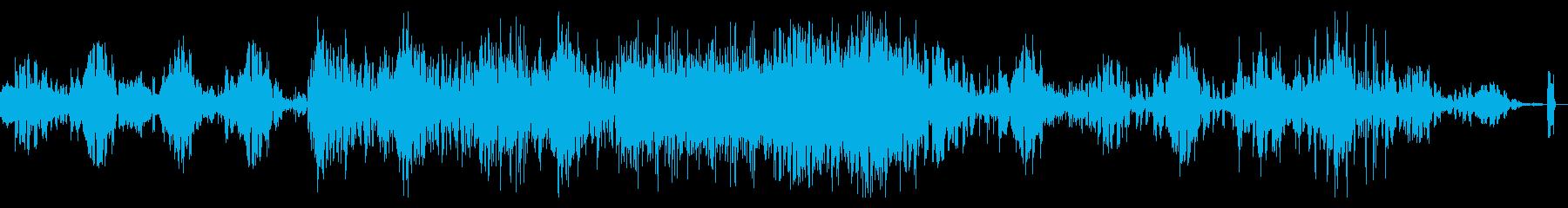 ディープでデジタルなシネマティックBGMの再生済みの波形