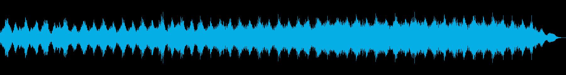 ギターとシンセストリングサウンドの再生済みの波形