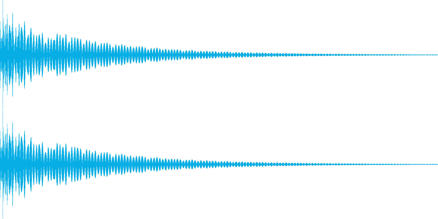 DTM Tom 37 オリジナル音源の再生済みの波形