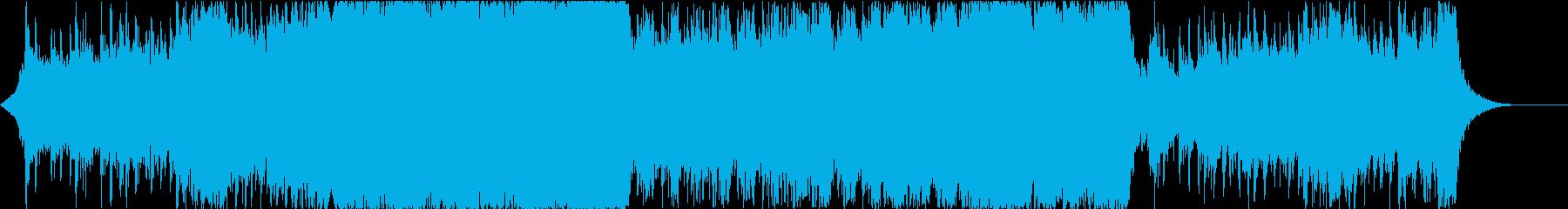 映画 感動的なエピックトレーラー 予告編の再生済みの波形