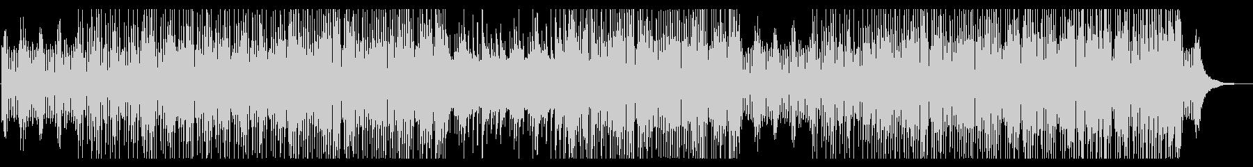 コミカルなピアノトリオのポップスの未再生の波形