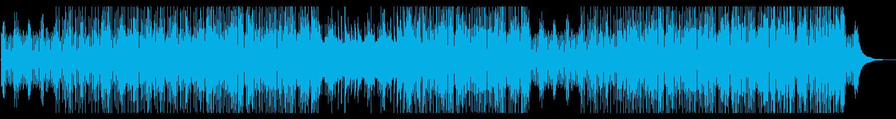 コミカルなピアノトリオのポップスの再生済みの波形