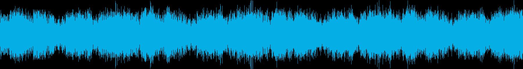 緊迫感 かっこいいオーケストラ ループの再生済みの波形