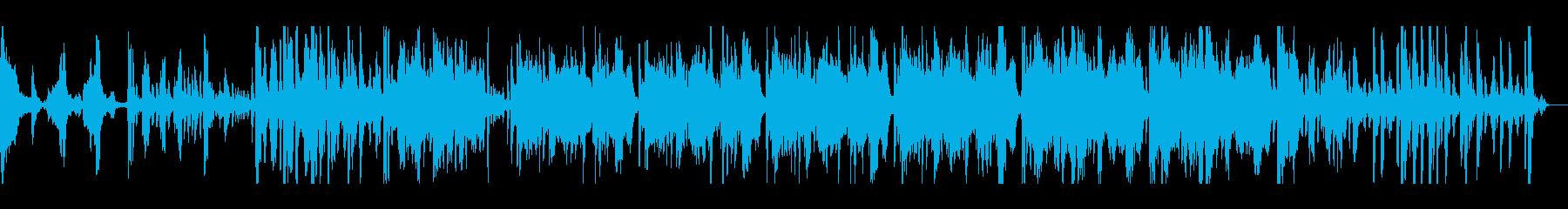 弦が印象的な緊迫感のあるオーケストラ曲の再生済みの波形