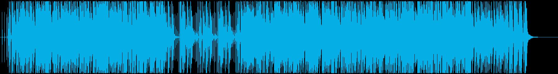 明るくキラキラした楽しい日常のBGMの再生済みの波形