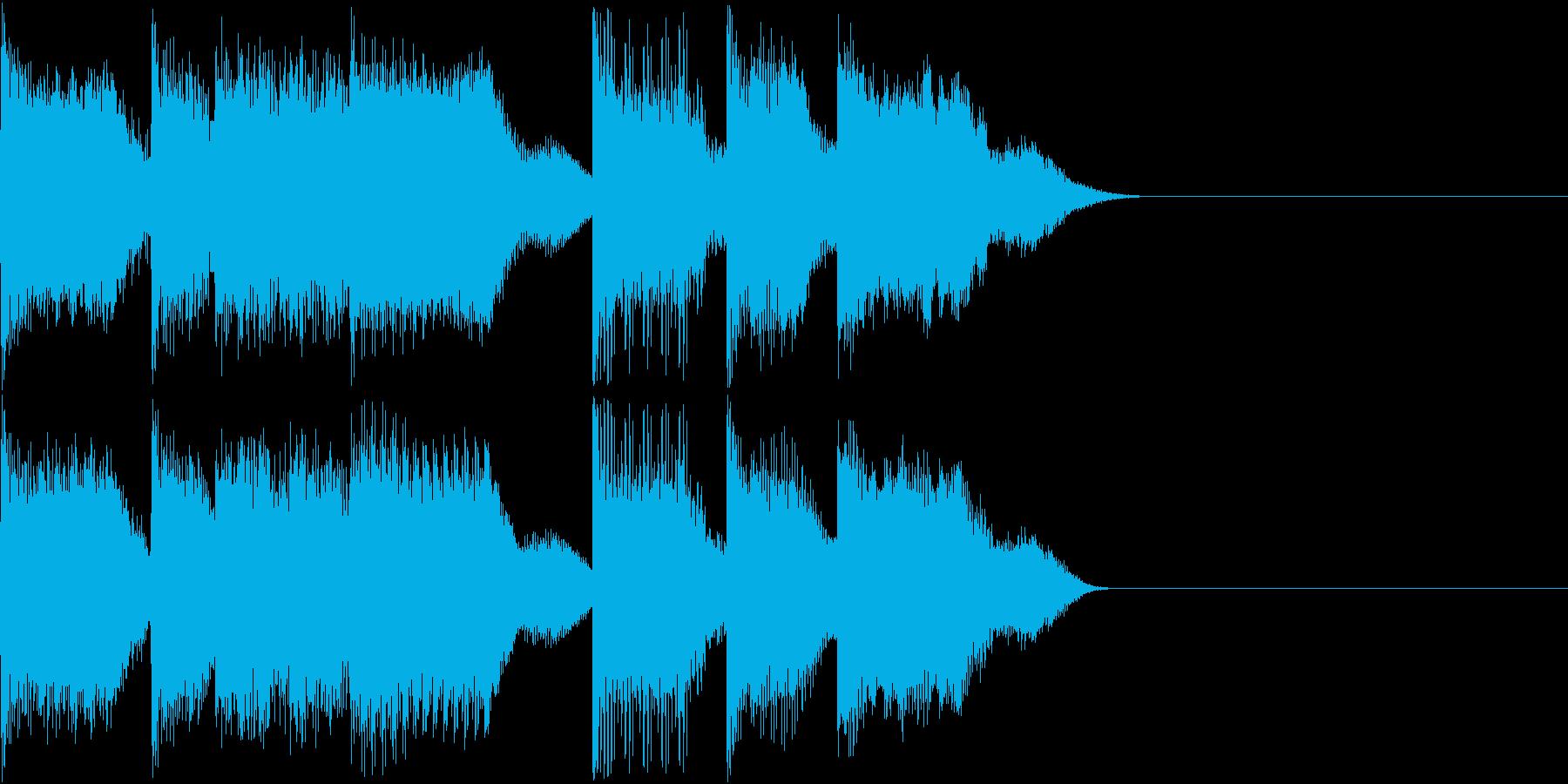 AI メカ/ロボ/マシン動作音 36の再生済みの波形