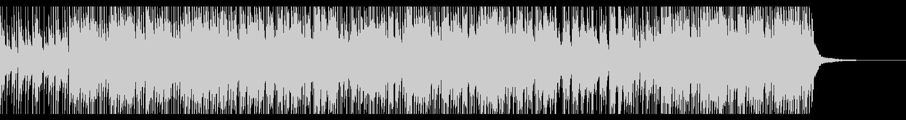 ゆったりとしたバラード調HIPHOPの未再生の波形