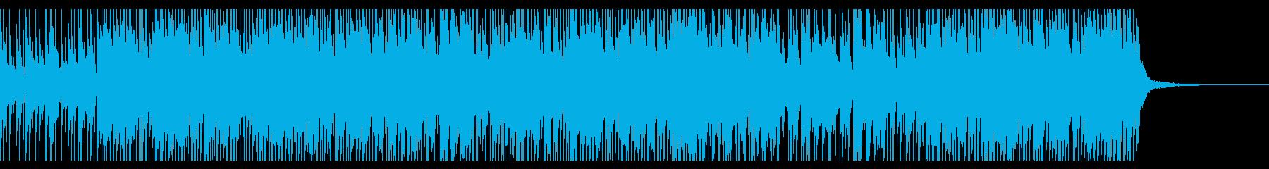 ゆったりとしたバラード調HIPHOPの再生済みの波形
