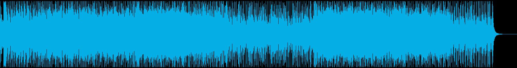 津軽三味線メインの6/8の和風ロックの再生済みの波形