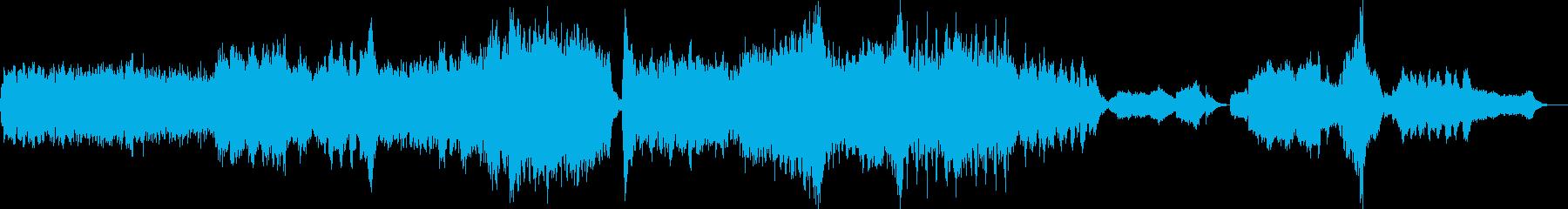 アップテンポコメディタッチオーケストラ曲の再生済みの波形