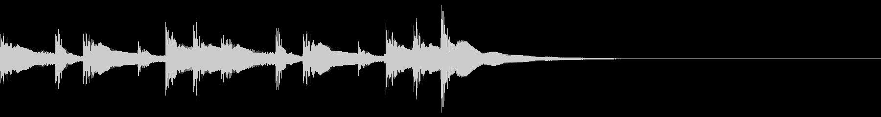 コンガ ボンゴ リフ2 キューバ の未再生の波形