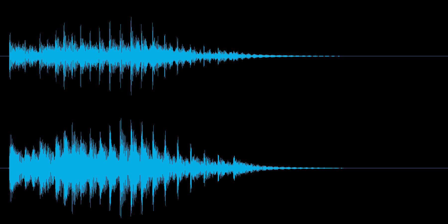 ドラム、トム、タイプC-低、スロー...の再生済みの波形