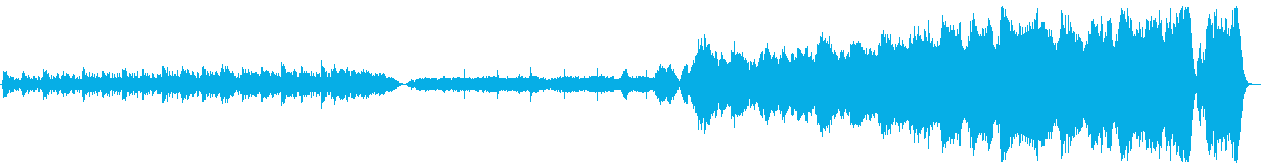 幻想的なオーケストラの再生済みの波形
