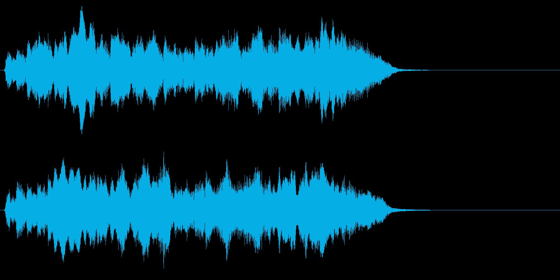 ハリウッド系さわやかなオーケストラのロゴの再生済みの波形
