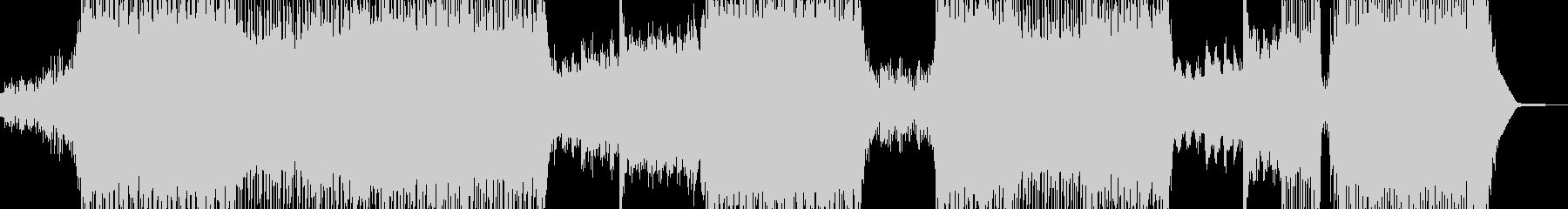鮮やかな近未来イメージ SFポップ Bの未再生の波形
