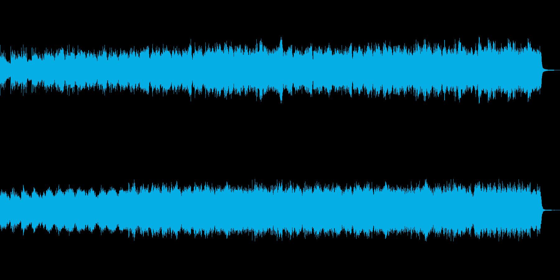幻想的な森の奥深くをイメージした管弦楽曲の再生済みの波形