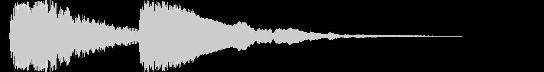 トゥ~ンティ~ン(ギター)の未再生の波形