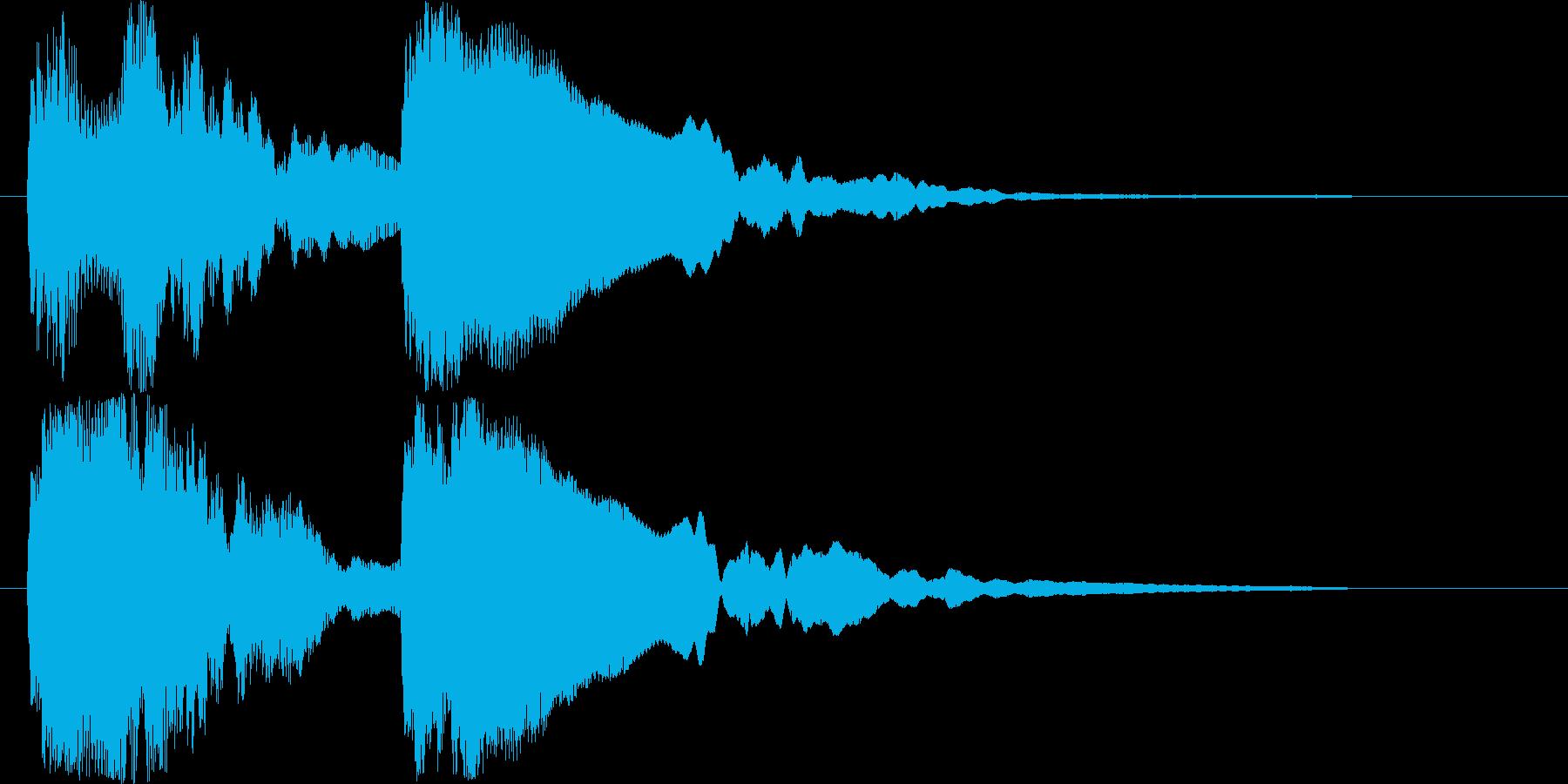 トゥ~ンティ~ン(ギター)の再生済みの波形