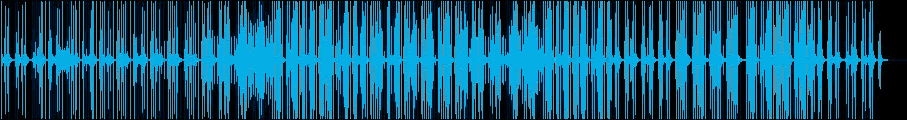 BGMとして最適なエレクトロポップの再生済みの波形