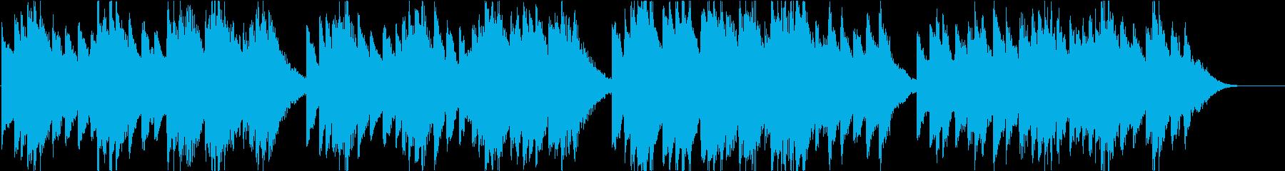時報・チャイム風の名曲のメロディ・25の再生済みの波形