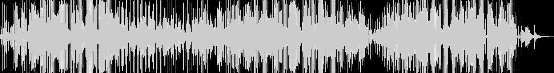 三味線・軽快ユーモラスなジャズの未再生の波形