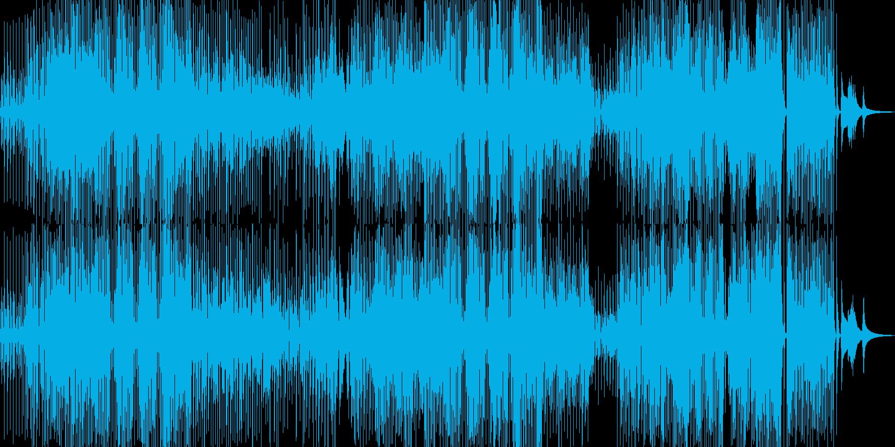 三味線・軽快ユーモラスなジャズの再生済みの波形