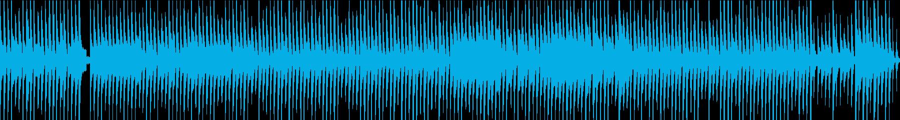 琴他が奏でるほのぼのワルツ(ループ)の再生済みの波形