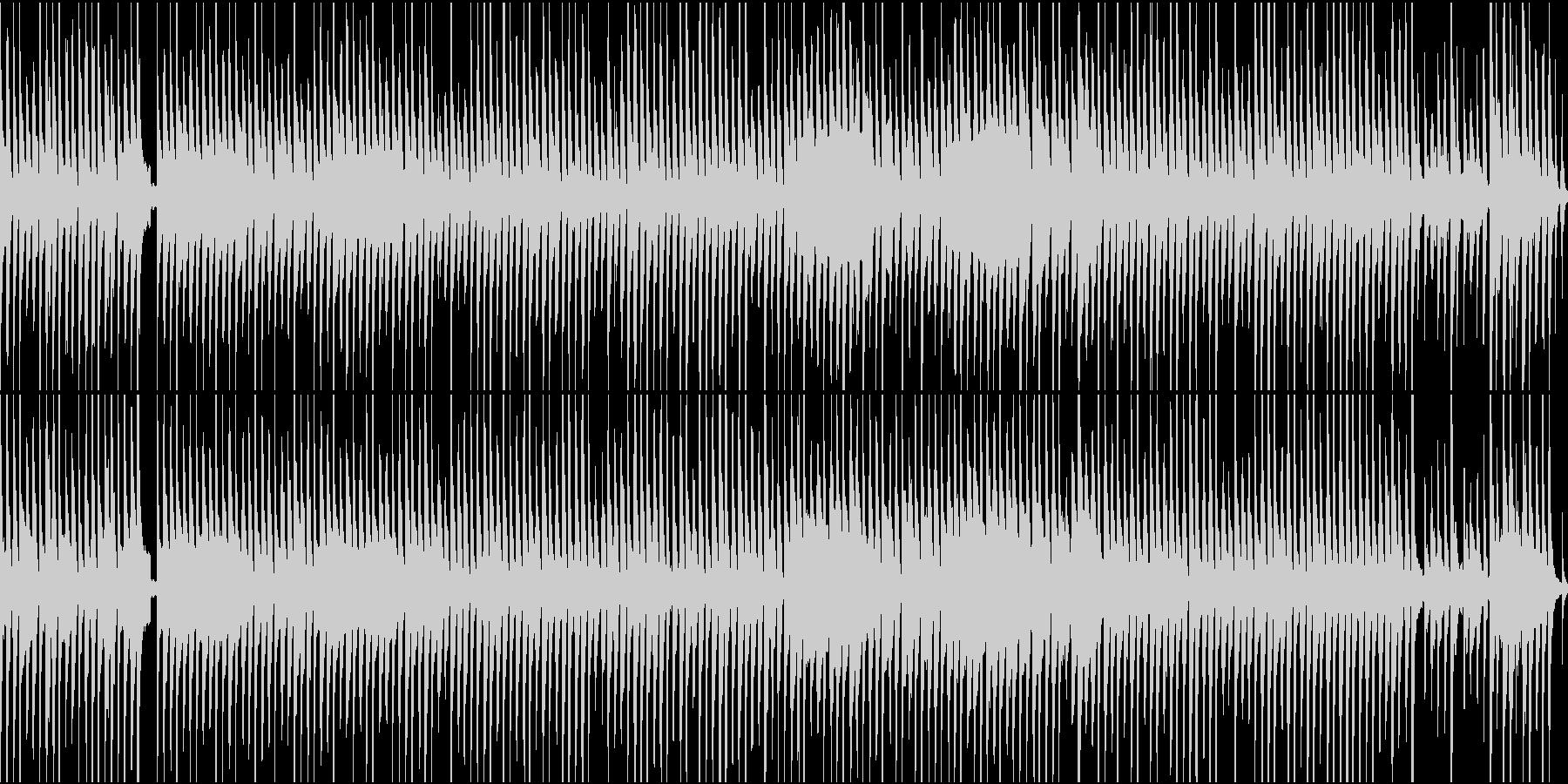 琴他が奏でるほのぼのワルツ(ループ)の未再生の波形