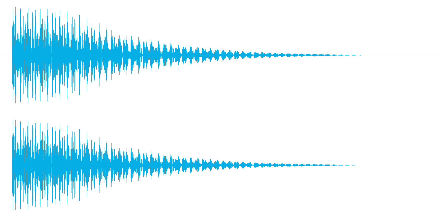 トゥーンの再生済みの波形