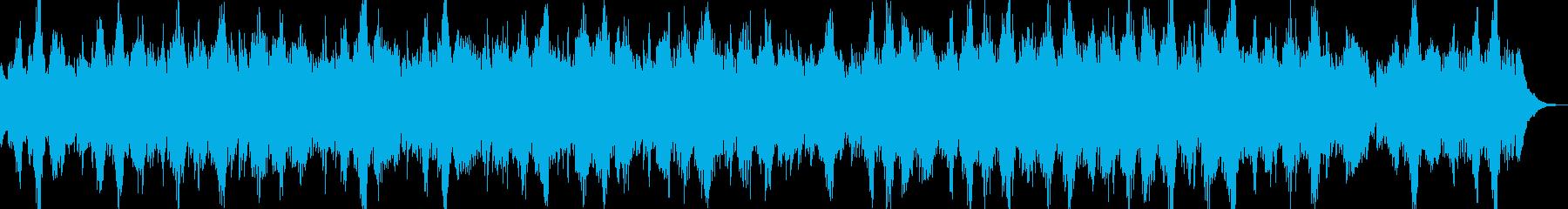 幸福と平和を想起させる感情的な、音...の再生済みの波形