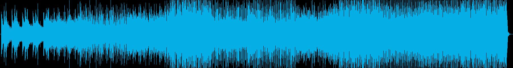 夏の海辺をイメージしたトロピカルなBGMの再生済みの波形