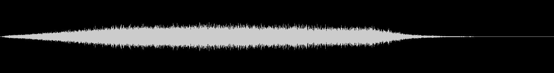 キラキラ音の未再生の波形
