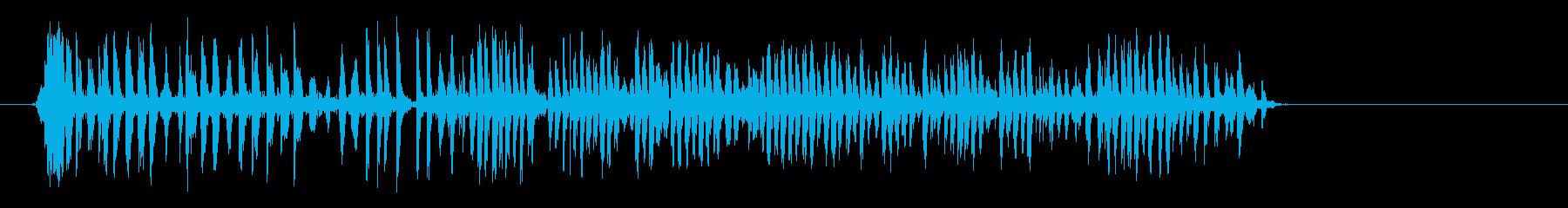 アンティークウッドメカニズム:重い...の再生済みの波形