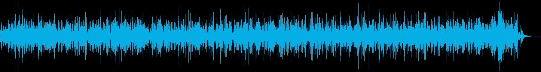うきうきするボサノバBGMの再生済みの波形