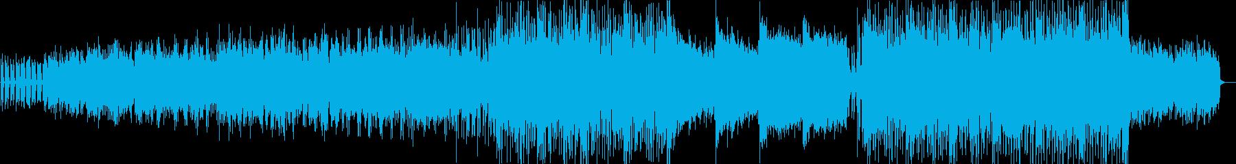 民謡的なニュースタイルレゲエの再生済みの波形