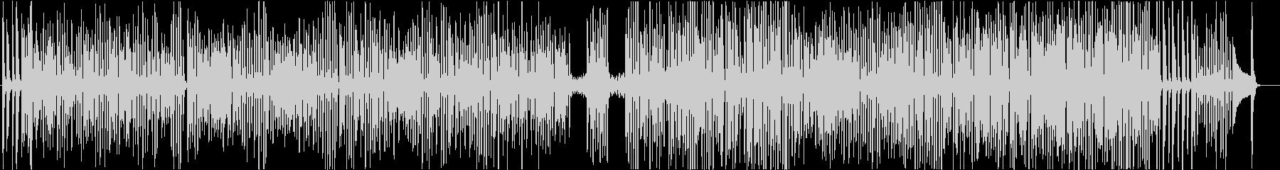 ②ワクワク楽しいピアノソロのラグタイムの未再生の波形