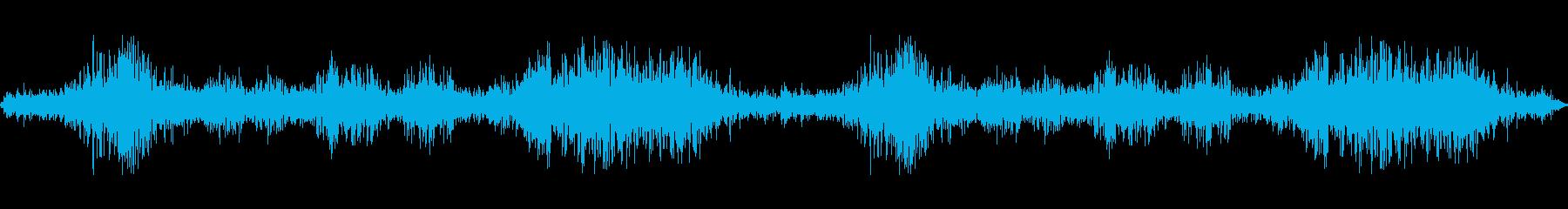 低風邪;ヴィンテージ録音;風の再生済みの波形