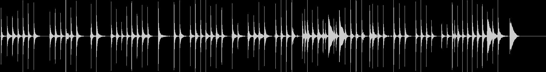 三味線80鷺娘12須磨生音歌舞伎妖怪鷺雪の未再生の波形