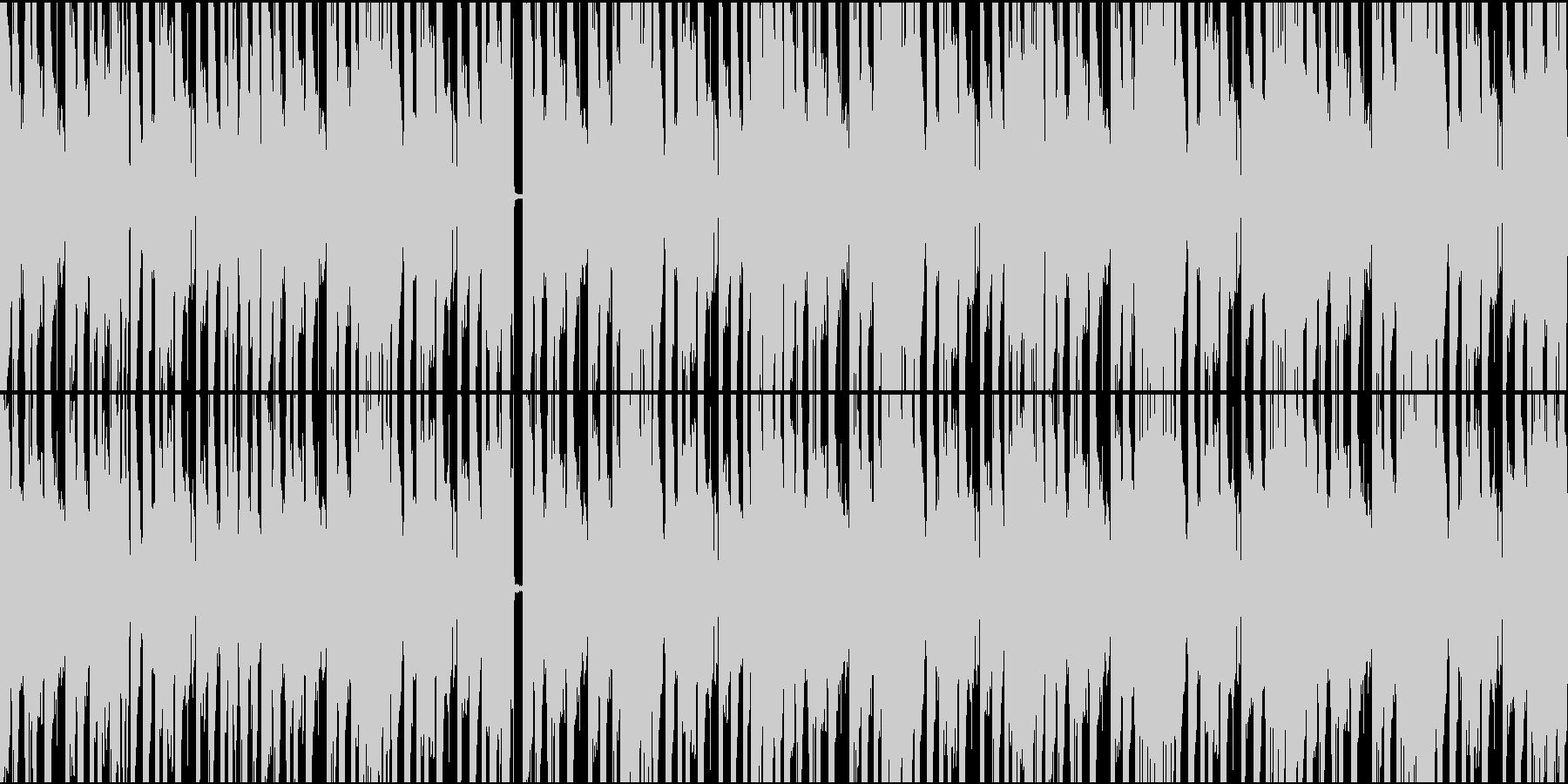 ギラギラ系EDM ダブステップ ループの未再生の波形