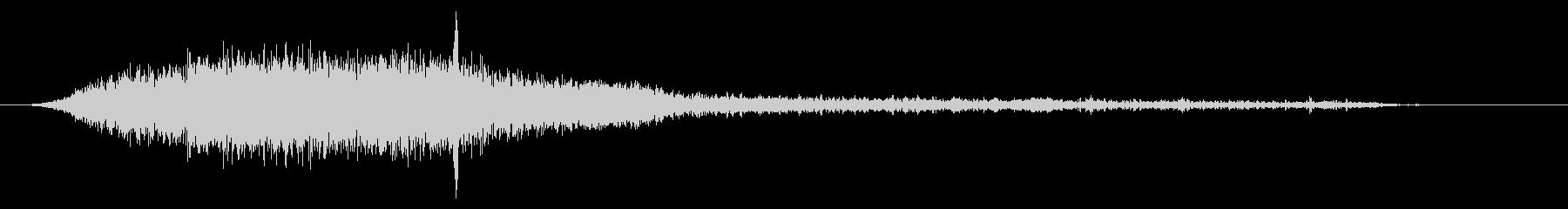 PC 駆動音03-03(強制シャットダウの未再生の波形
