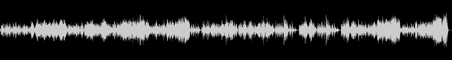 バイオリンソナタK.304 第2楽章の未再生の波形