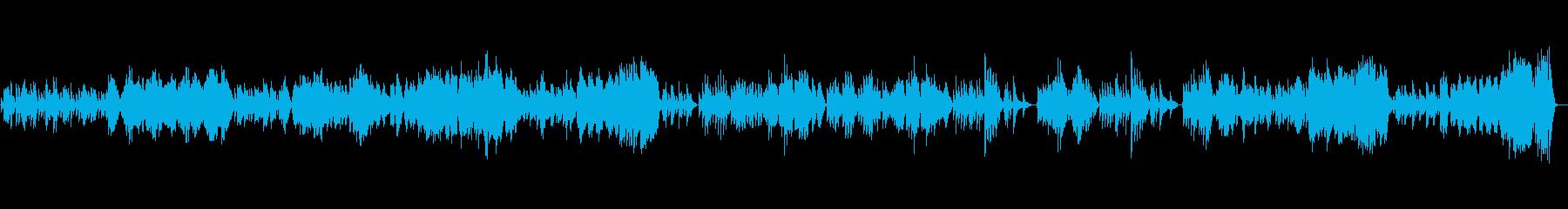 バイオリンソナタK.304 第2楽章の再生済みの波形