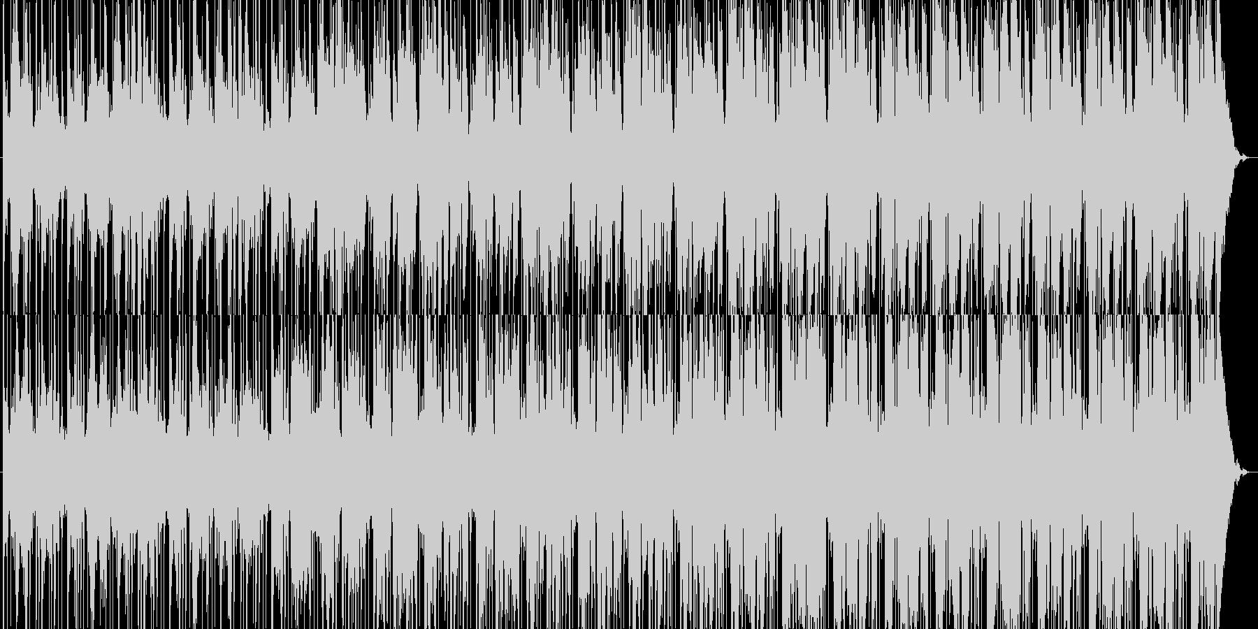 美しい夜へのダビーブレイクスの未再生の波形