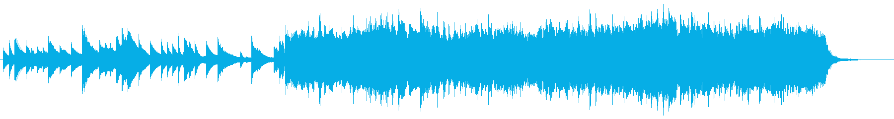 Calm Orchestra 3の再生済みの波形