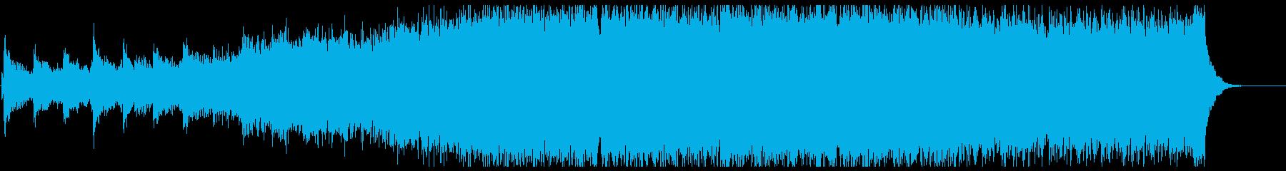 栄光を称えるエピックオーケストラの再生済みの波形