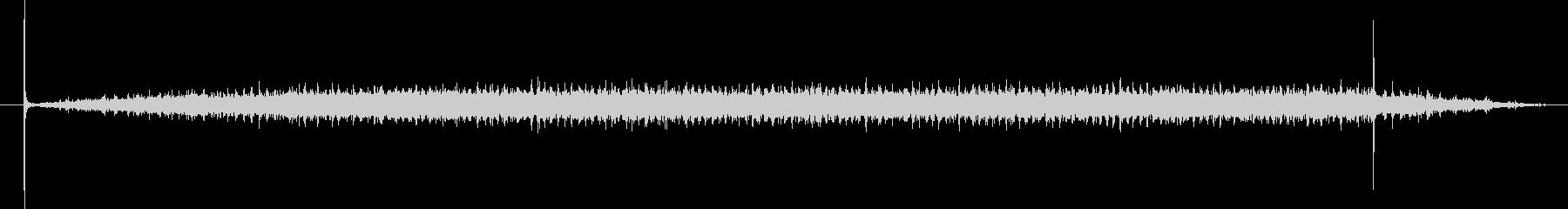映写機の音の未再生の波形