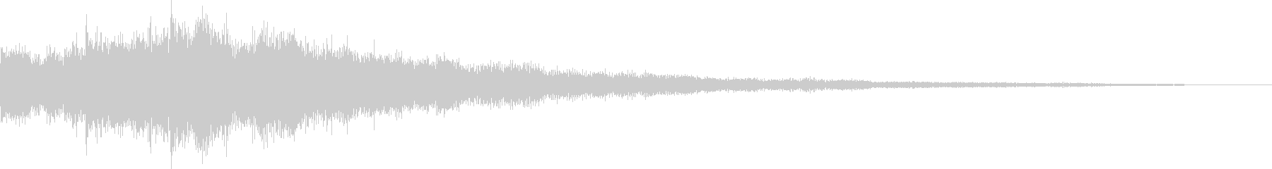 サウンドロゴ シネマティックの未再生の波形