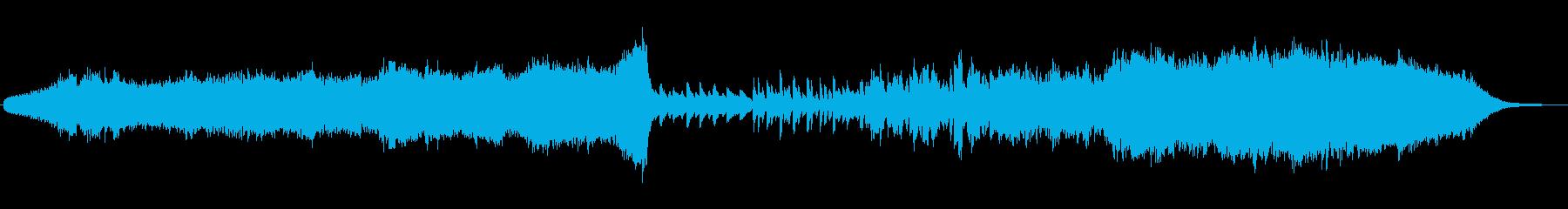 ストリングスが印象的な切なくも力強い曲の再生済みの波形