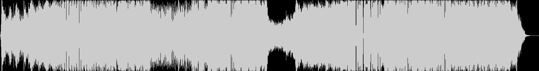 ダークなシネマティック戦闘曲の未再生の波形