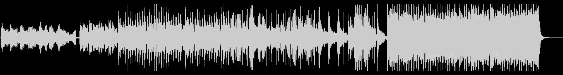 かっこいいシンセとピアノのEDMの未再生の波形